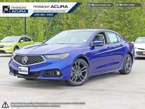 New Acura TLX Tech A-Spec