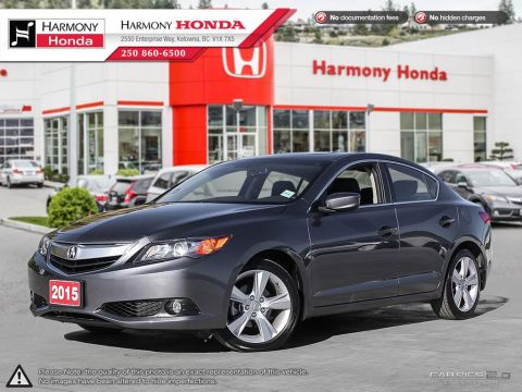 Used Acura ILX PREMIUM - 1 OWNER - LOW KMS - NO ACCIDENTS - BOUGHT & SERVICED @ HARMONY - BACKUP CAM - SUNROOF