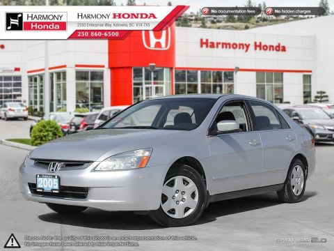 Used Honda Accord Sdn LX-G - LOCAL BC VEHICLE - LOW KMS - FOUR-WHEEL DISC BRAKES - HARMONY CERTIFIED