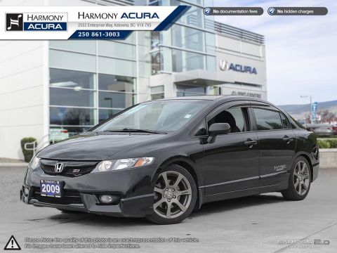 Used Honda Civic Sdn SI - BC SEDAN - NO ACCIDENTS / DAMAGE - SUNROOF - FOG LIGHTS - MOSTLY HWY KMS - TRADED ON 2016 CR-V