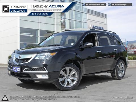 Used Acura MDX ELITE PKG - ONE OWNER - WELL SERVICED - NO ACCIDENTS  - TIMING BELT RECENTLY REPLACED