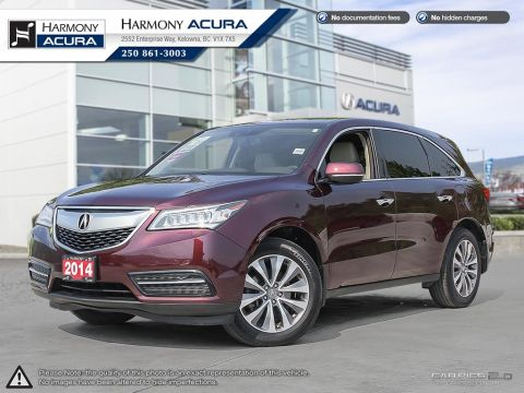 Used Acura MDX NAV PKG - LOCAL VEHICLE - NO ACCIDENTS / DAMAGE - NAVIGATION SYSTEM - BACKUP CAMERA - SUNROOF