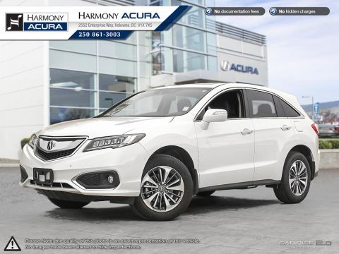 Used Acura RDX ELITE - LIKE NEW - NO ACCIDENTS OR DAMAGE - ONE OWNER - NON-SMOKER DRIVEN