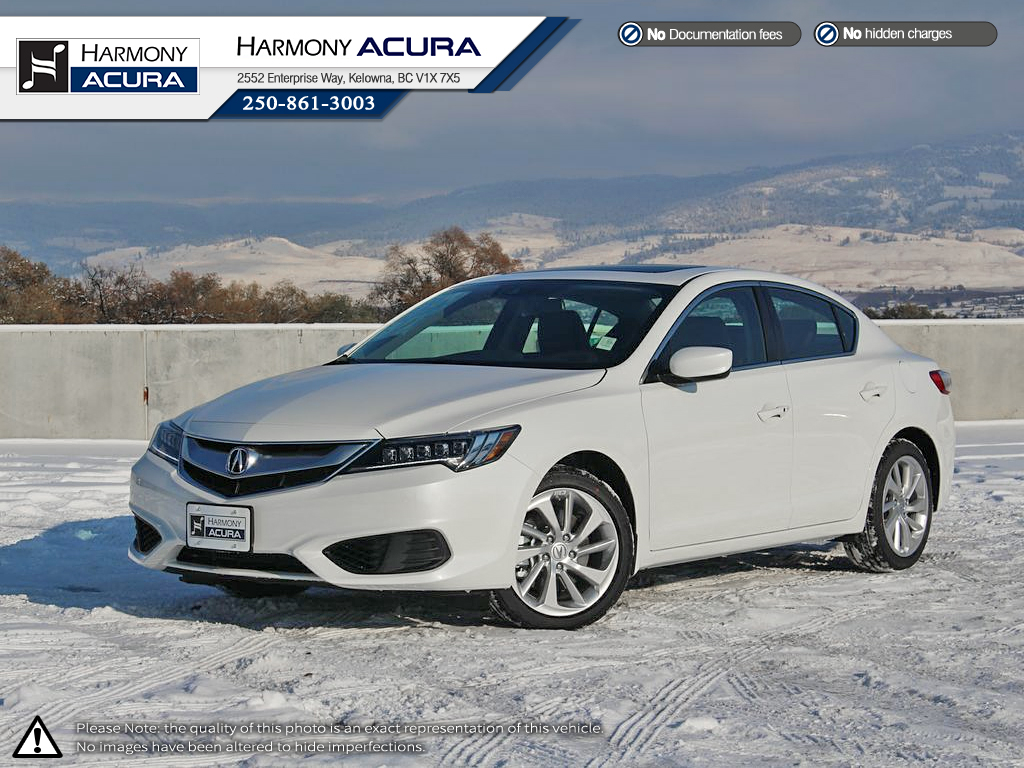 New 2018 Acura ILX TECH 4 Door Car In Kelowna #A18071-C