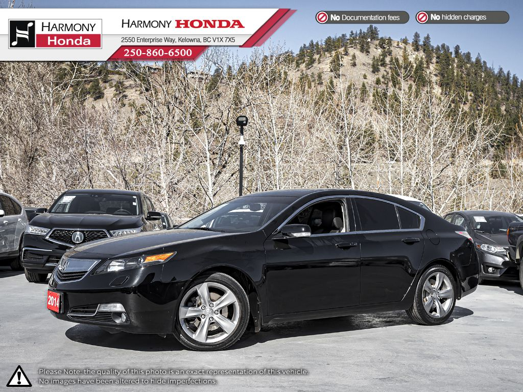 Pre-Owned 2014 Acura TL TECH - BC VEHICLE - NO ACCIDENTS - SUNROOF - BACKUP CAM - NAVI SYSTEM - BLUETOOTH - NEW TIRES