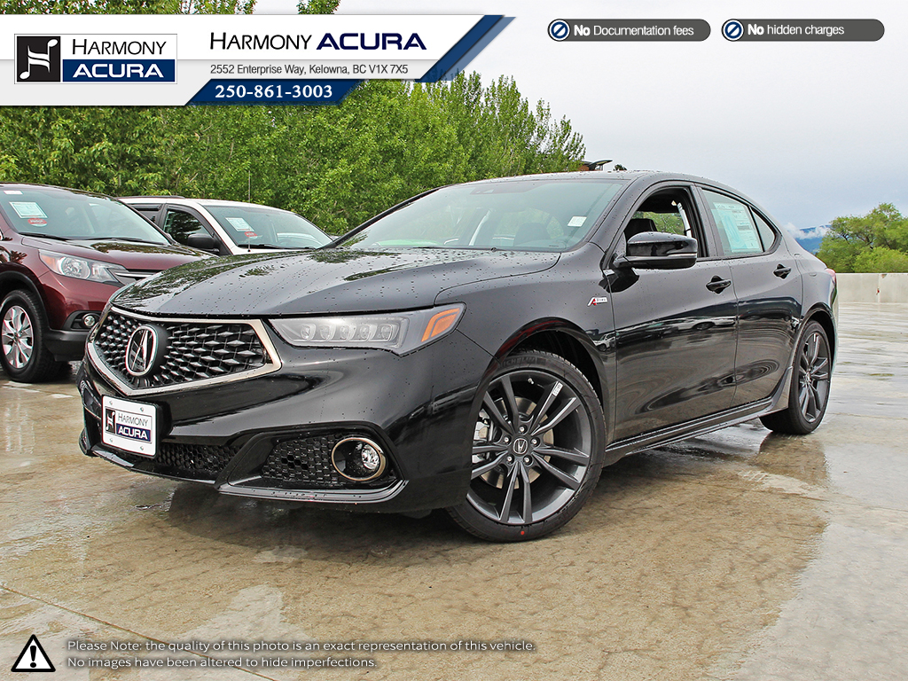 New 2018 Acura TLX TECH A-SPEC 4 Door Car in Kelowna # ...