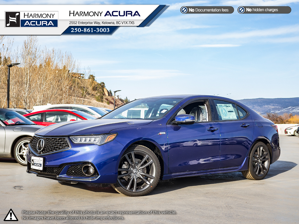 New 2019 Acura TLX ELITE A-SPEC