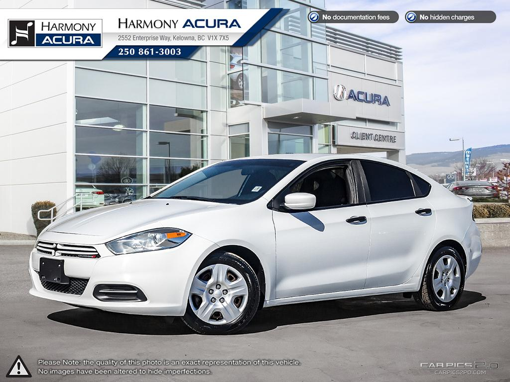 Pre-Owned 2015 Dodge Dart SE - BC VEHICLE - NO ACCIDENTS / DAMAGE - LOW KM - NAVIGATION SYSTEM