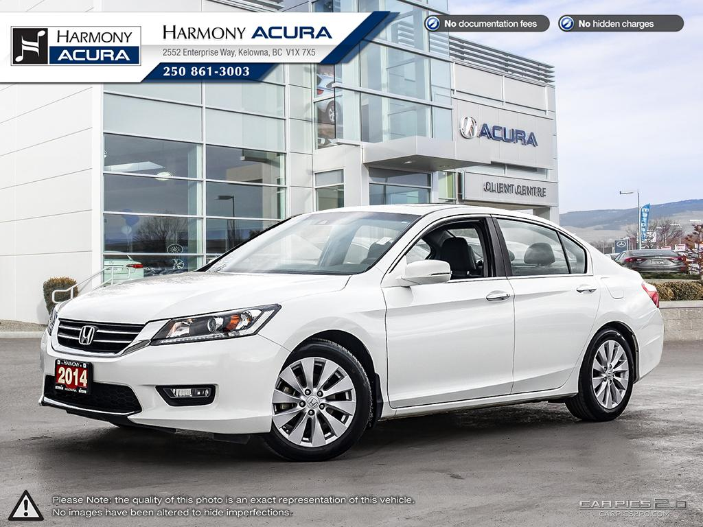 Pre-Owned 2014 Honda Accord Sedan EX-L - NO ACCIDENTS / DAMAGE - SUNROOF - BACKUP CAMERA - FOG LIGHTS