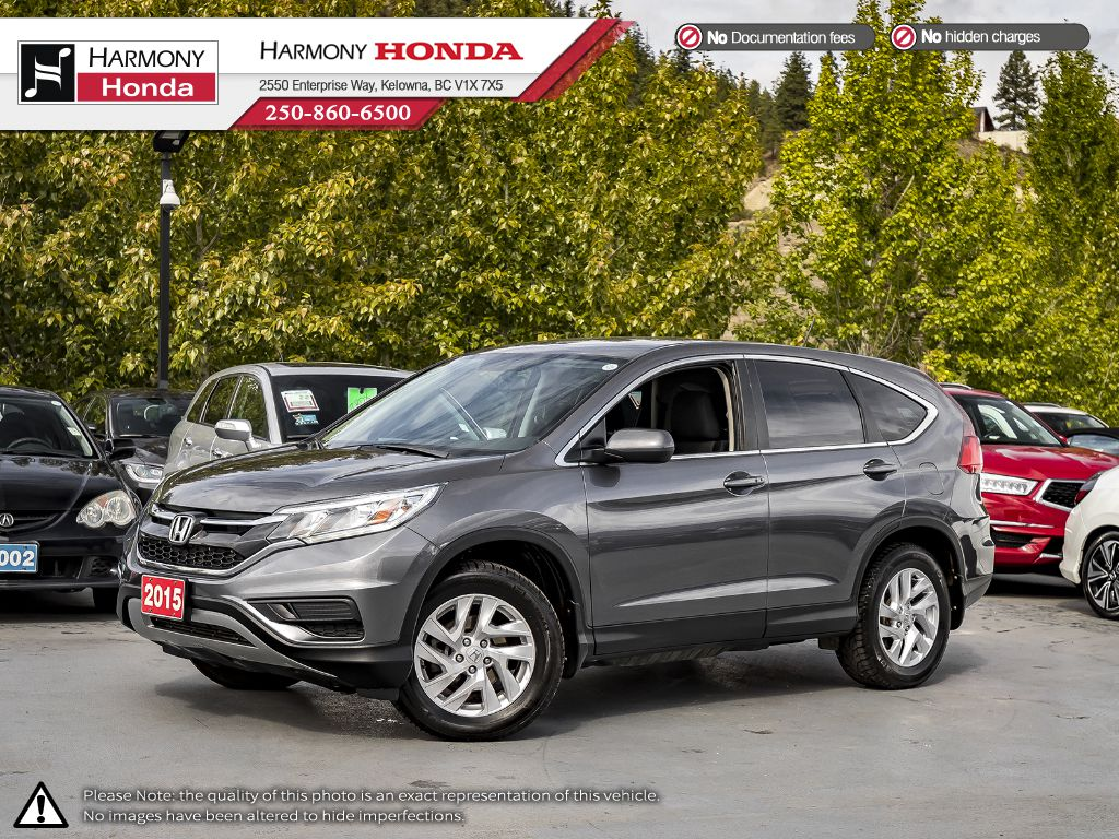 Pre-Owned 2015 Honda CR-V SE - BC VEHICLE - NO ACCIDENTS - LOW KM - BACKUP CAMERA - BLUETOOTH