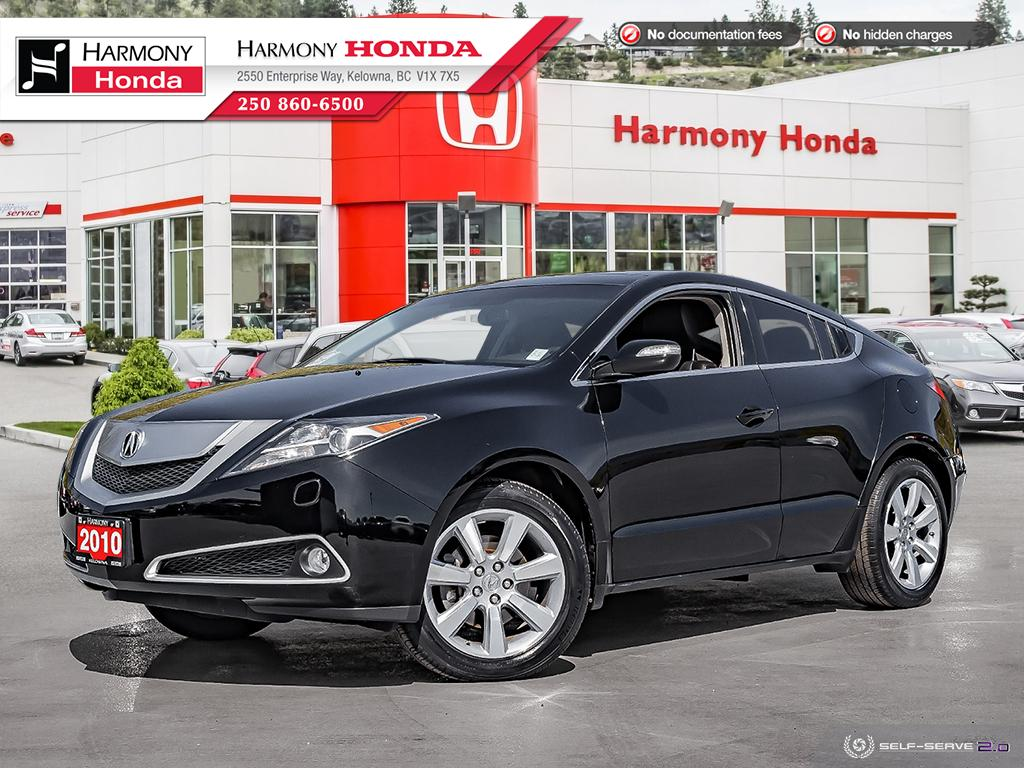 Pre-Owned 2010 Acura ZDX TECH PKG - LOW KM - BACKUP CAM - NAVI SYSTEM - PANORAMIC SUNROOF - NEW TIRES - NEW FRONT BRAKES