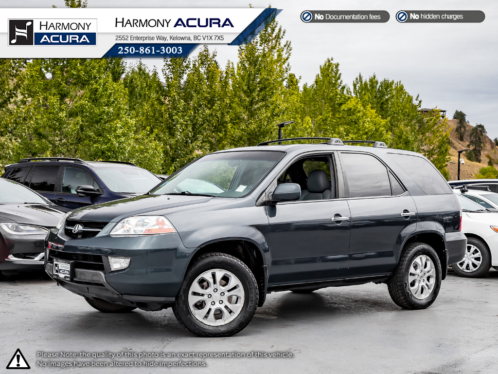 Pre-Owned 2003 Acura MDX WELL TAKEN CARE OF - NEW TIMING BELT - NEW WATER PUMP - LEATHER INTERIOR - TIRE PRESSURE MONITOR