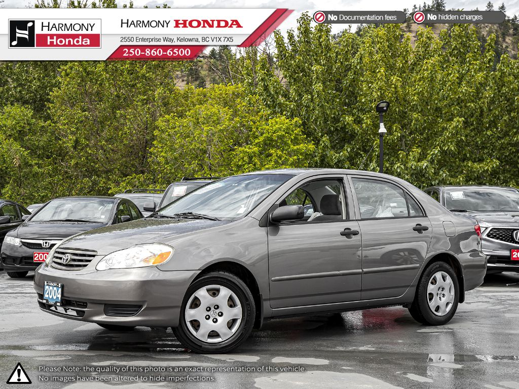Pre-Owned 2004 Toyota Corolla CE - ONE OWNER - NON SMOKER - 2ND SET OF TIRES - WELL SERVICED