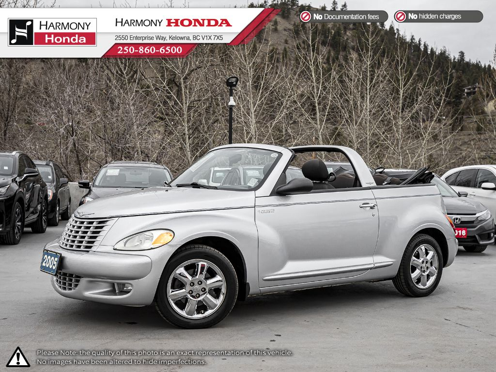 Pre-Owned 2005 Chrysler PT Cruiser TOURING - CONVERTIBLE - BC VEHICLE - LOW KM - NEW TIRES - FOG LIGHTS