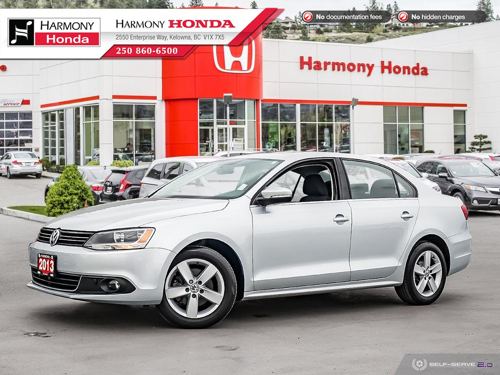 Pre-Owned 2013 Volkswagen Jetta Sedan TDI COMFORTLINE - BC VEHICLE - LOW KM - SUNROOF - FOG LIGHTS - DIESEL FUEL