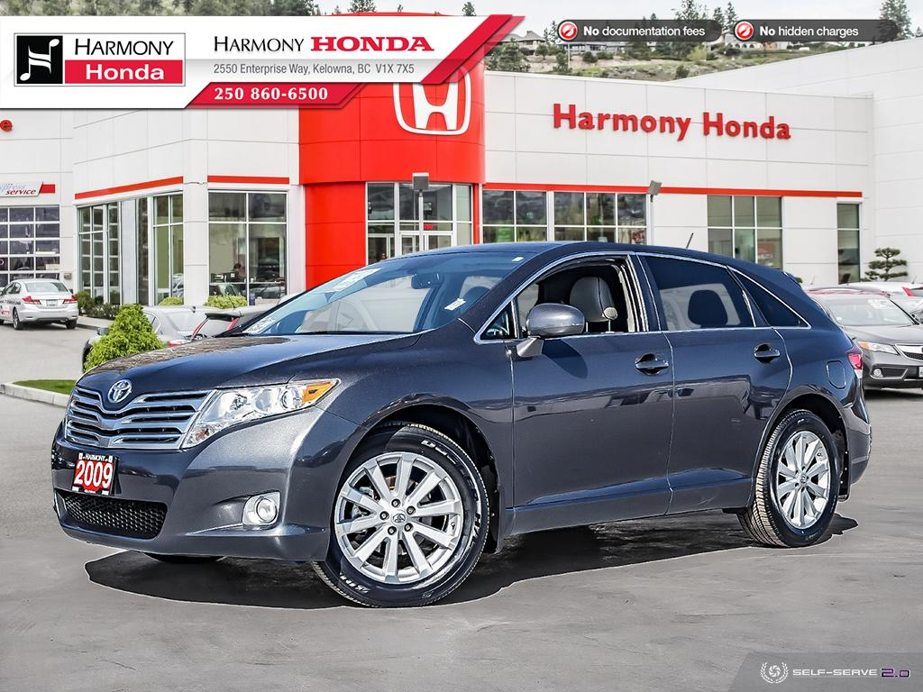 Pre-Owned 2009 Toyota Venza - BC VEHICLE - NO ACCIDENTS / DAMAGE - ONE OWNER - BACKUP CAM - PANORAMIC SUNROOF - NEW FRONT TIRES