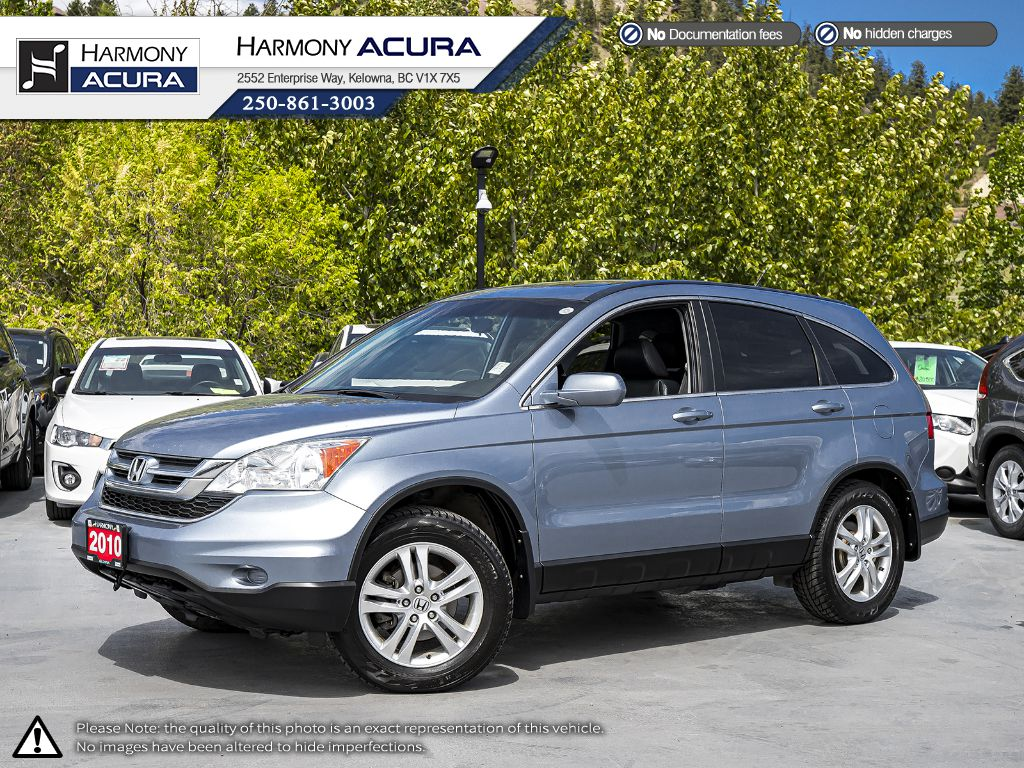 Pre-Owned 2010 Honda CR-V EX-L Navi - LOCAL VEHICLE - ONE OWNER - SUNROOF - BACKUP CAMERA - NAVIGATION SYSTEM - BLUETOOTH