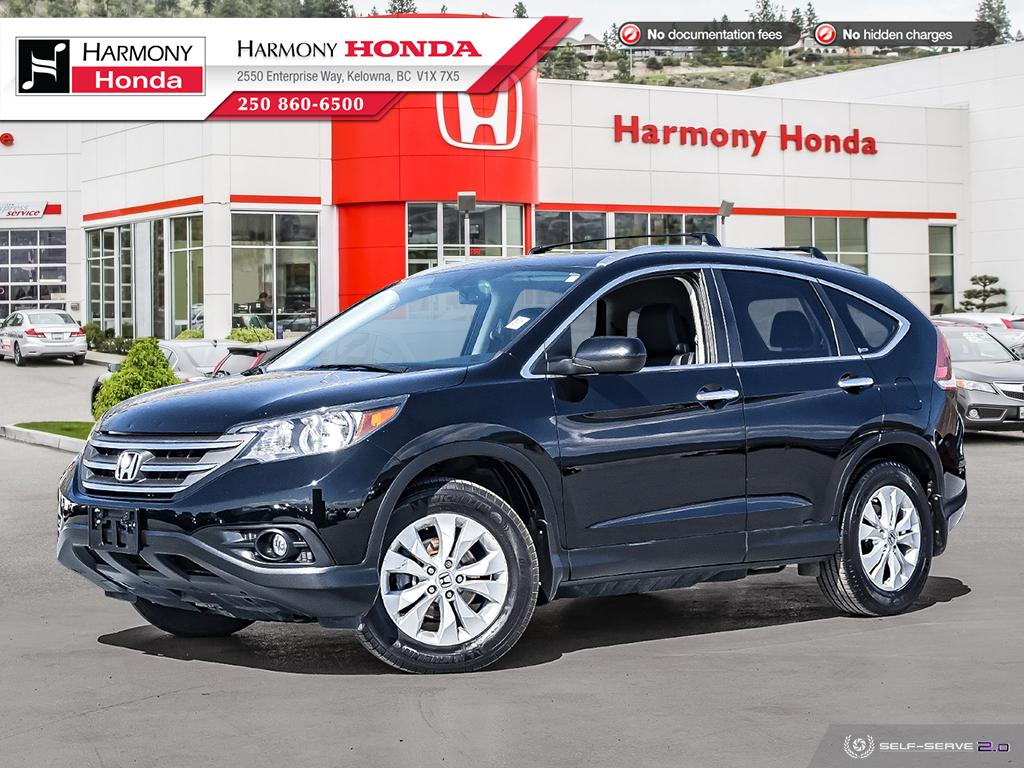 Pre-Owned 2012 Honda CR-V TOURING - BC VEHICLE - NON SMOKER - LOW KM - SUNROOF - BACKUP CAMERA - NAVI SYSTEM - NEW REAR BRAKES