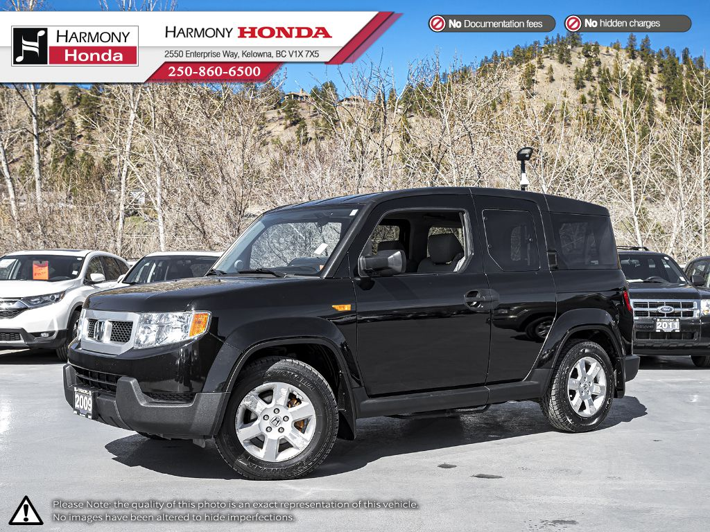Pre-Owned 2009 Honda Element EX - BC VEHICLE - NO ACCIDENTS / DAMAGE - NON SMOKER - BLUETOOTH- GREAT AUDIO SYSTEM
