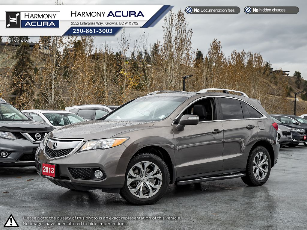 Pre-Owned 2013 Acura RDX TECH PKG - ONE OWNER - FULLY SERVICED - NEW TIMING BELT - NON SMOKER DRIVEN - PET FREE