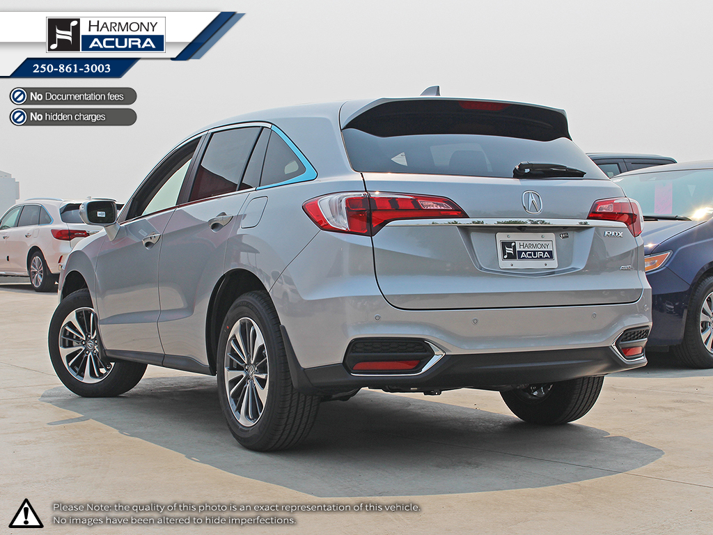 New 2018 Acura Rdx Elite 4 Door Sport Utility In Kelowna