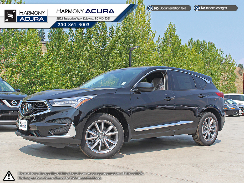 New 2019 Acura Rdx Elite 4 Door Sport Utility In Kelowna A19074