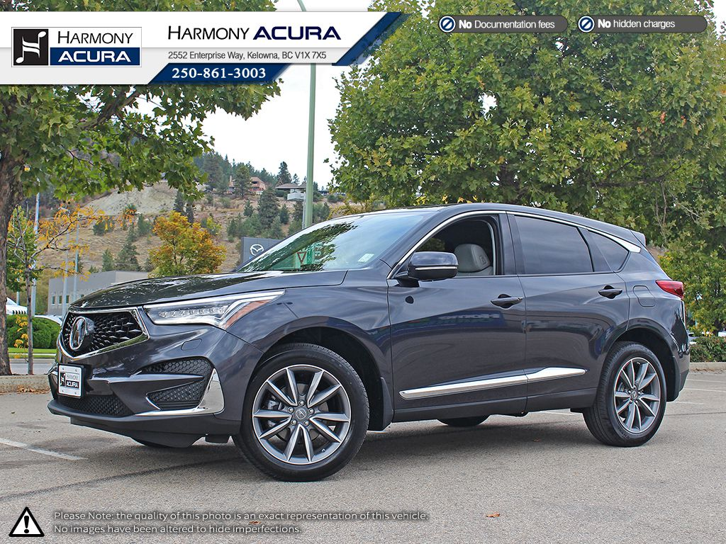 New 2019 Acura Rdx Elite 4 Door Sport Utility In Kelowna A19109
