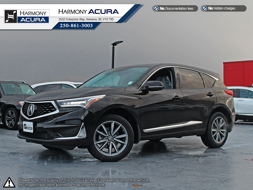 New 2019 Acura Rdx Elite 4 Door Sport Utility In Kelowna A19101