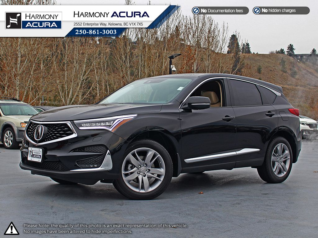 New 2019 Acura Rdx Platinum Elite 4 Door Sport Utility In Kelowna