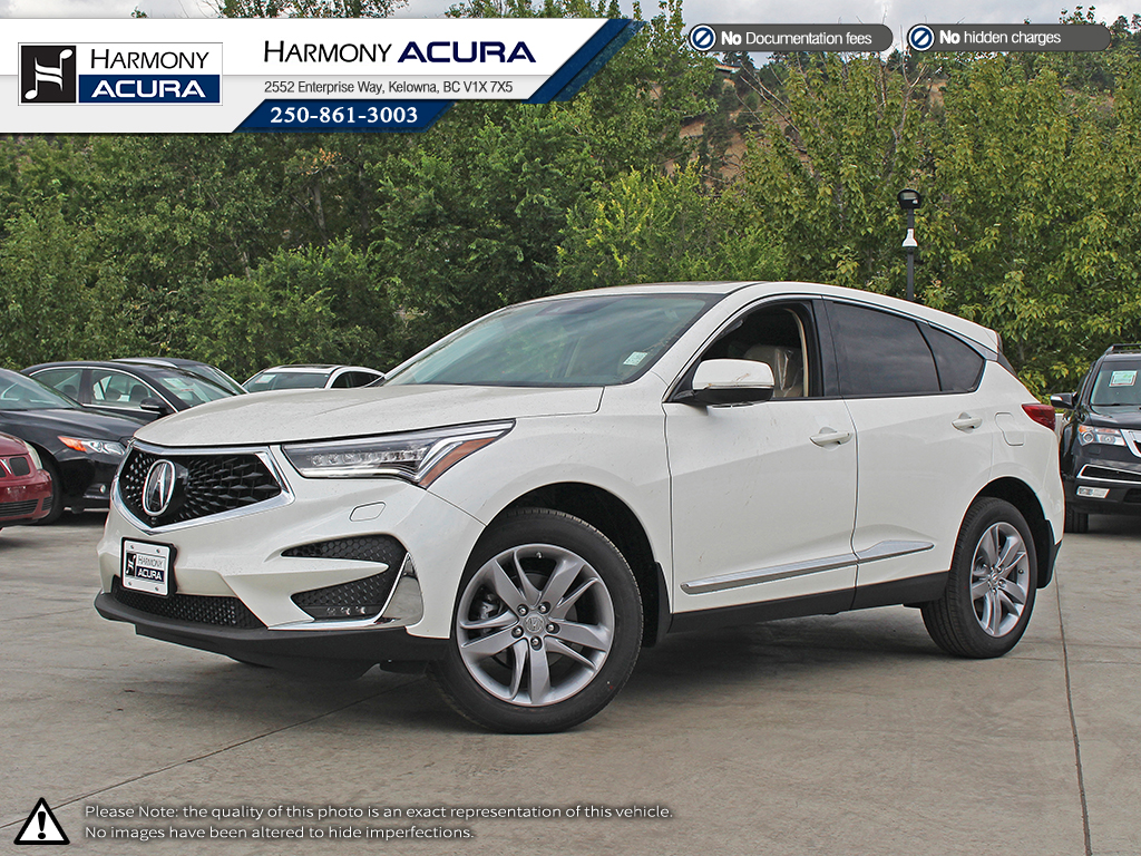 New 2019 Acura RDX PLATINUM ELITE