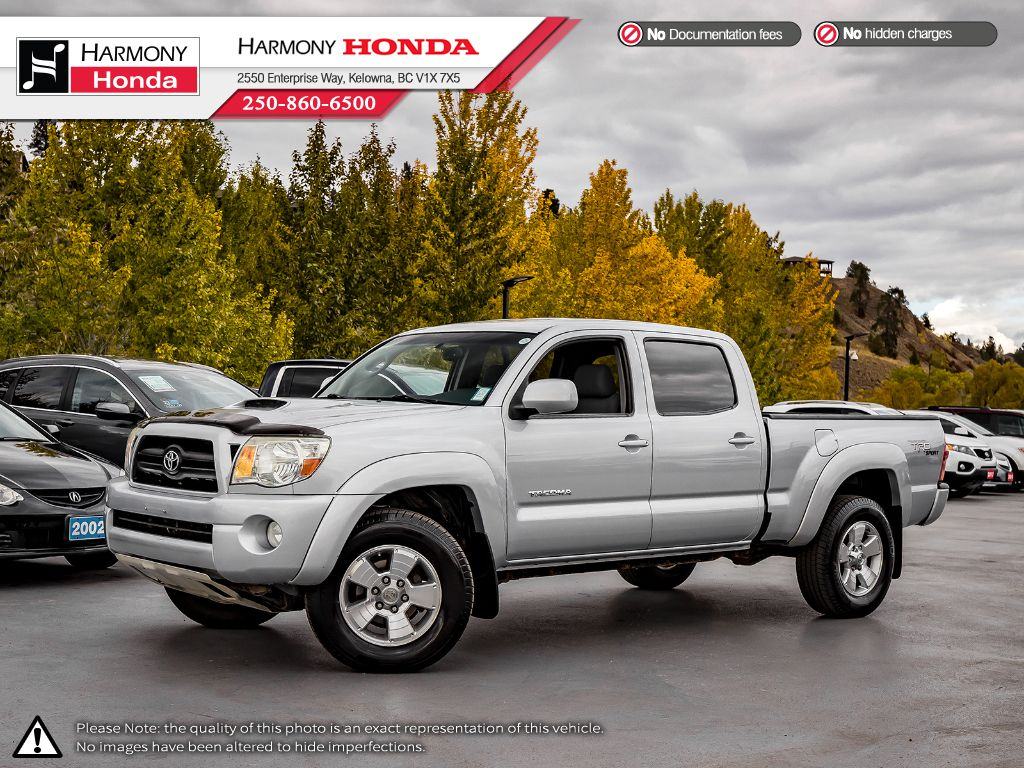 Pre-Owned 2008 Toyota Tacoma TRD SPORT - LOW KM - NEW BRAKES - FOG LIGHTS - RELIABLE - V6 POWERED
