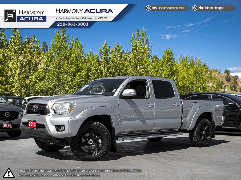 Pre-Owned 2013 Toyota Tacoma DOUBLE CAB - LOW KM - BACKUP CAMERA - BLUETOOTH - NEW FRONT BRAKES - REMOTE STARTER - FOG LIGHTS