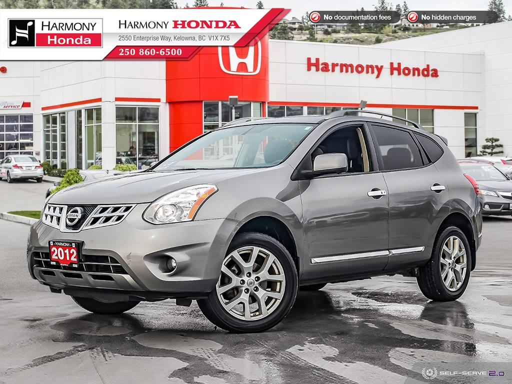 Pre-Owned 2012 Nissan Rogue SL - BC VEHICLE - NO ACCIDENTS - 1 OWNER - NON SMOKER - LOW KM - SUNROOF - BACKUP CAM - NAVI SYSTEM