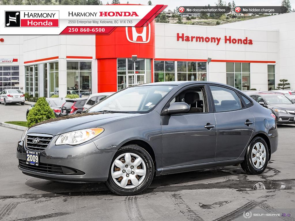 Pre-Owned 2009 Hyundai Elantra GL - BC VEHICLE - LOW KMS - FUEL EFFICIENT - HEATED SEATS - REMOTE KEYLESS ENTRY