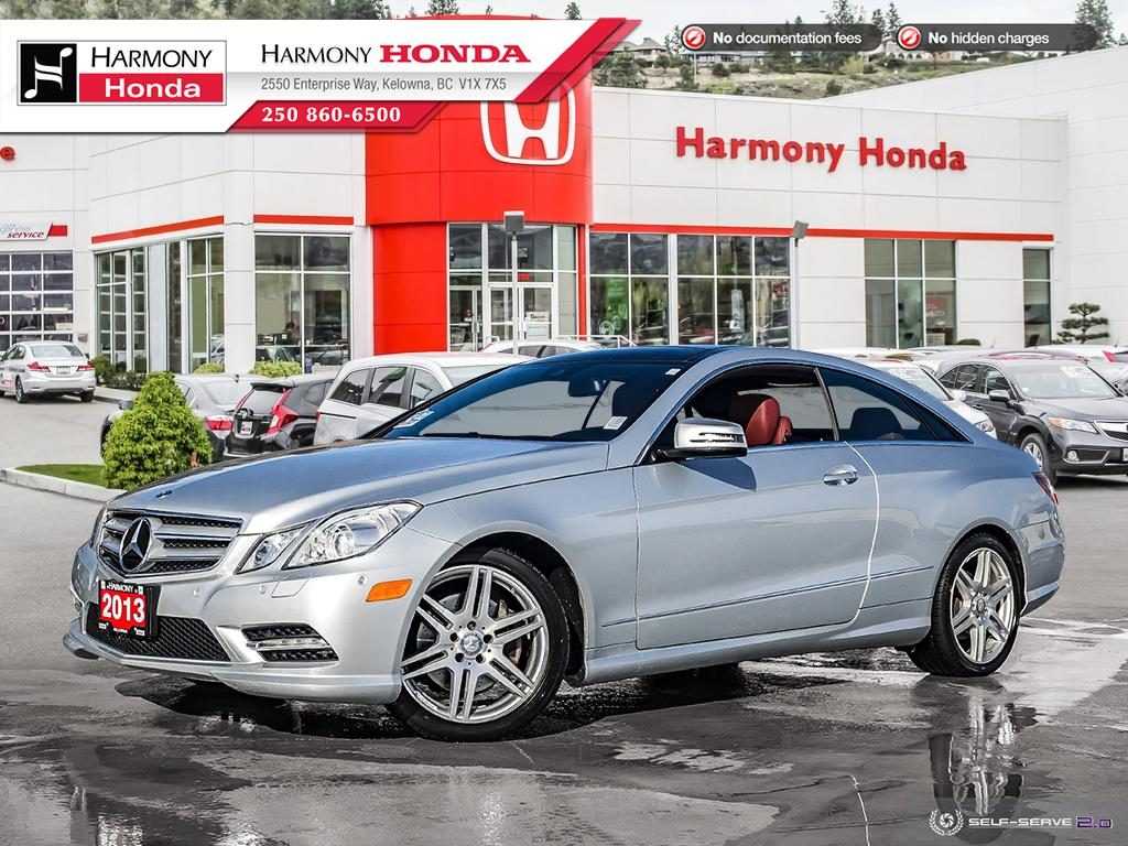 Pre-Owned 2013 Mercedes-Benz E-Class E 350 4MATIC - BC VEHICLE - NO ACCIDENTS - LOW KM - BACKUP CAM - NAVI SYSTEM - PANORAMIC ROOF