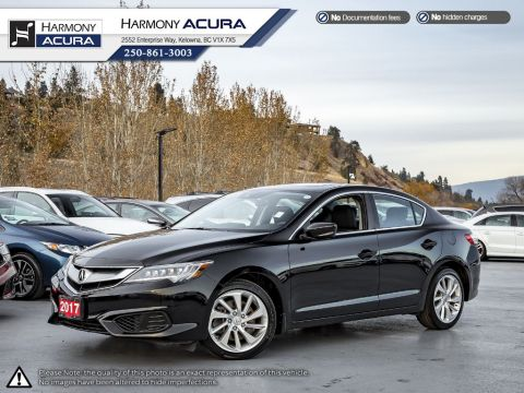 Certified Pre-Owned 2017 Acura ILX ACURA CERTIFIED - NO ACCIDENTS OR DAMAGE - LOW KMS - PUSH BUTTON START - BACKUP CAMERA