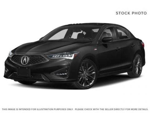New 2019 Acura ILX TECH A-SPEC