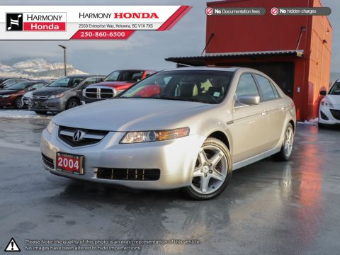 Pre-Owned 2004 Acura TL - BC VEHICLE - NON SMOKER - LOW KM - SUNROOF - LEATHER INTERIOR - GARAGE OPENER