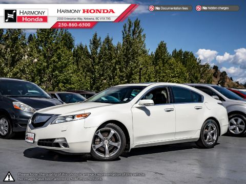 Pre-Owned 2010 Acura TL TECH PKG - BC VEHICLE - ONE OWNER - SUNROOF - BACKUP CAM - NAVI SYSTEM - BLUETOOTH - NEW TIRES