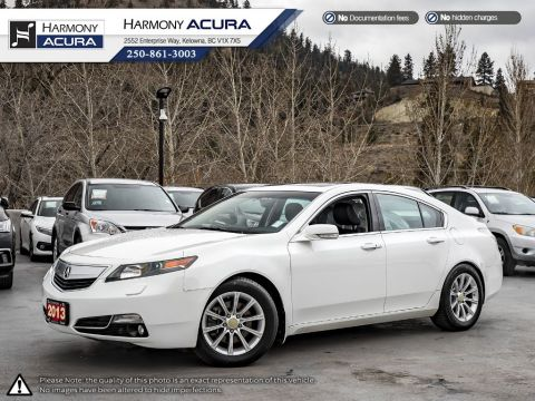 Pre-Owned 2013 Acura TL ELITE PKG - BC VEHICLE - NON SMOKER - SUNROOF - BACKUP CAM - NAVI SYSTEM - NEW TIRES