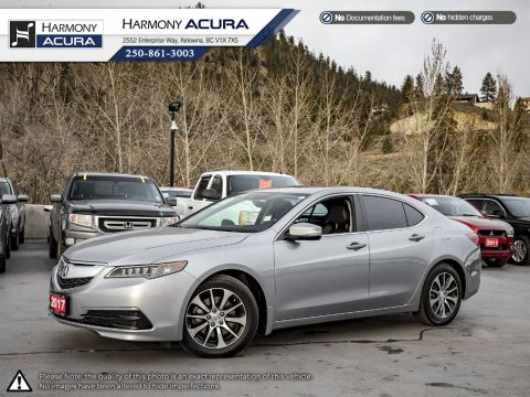 Certified Pre-Owned 2017 Acura TLX TECH - ACURA CERTIFIED - BC VEHICLE - ONE OWNER - NON SMOKER - SUNROOF - BACKUP CAM - NAVI SYSTEM