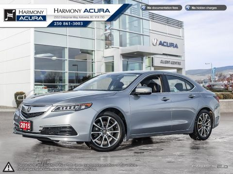 Pre-Owned 2015 Acura TLX V6 TECH - NO ACCIDENTS OR DAMAGE - LOCAL KELOWNA CAR - FULL SERVICE HISTORY - FULLY SERVICED - NAVI