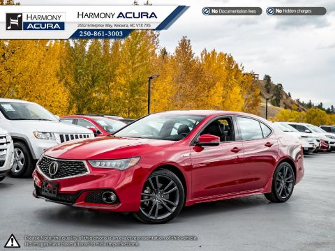 Certified Pre-Owned 2019 Acura TLX ELITE A-SPEC - ACURA CERTIFIED - LOCAL - ONE OWNER - LOW KM - NAVI SYSTEM - FACTORY WARRANTY