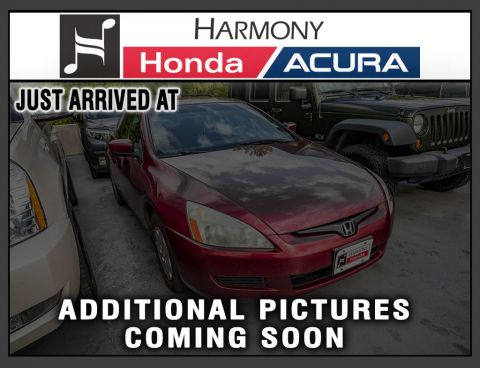 Pre-Owned 2003 Honda Accord Coupe LX