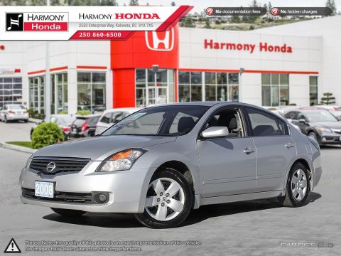 Pre-Owned 2008 Nissan Altima 2.5 S - ONE OWNER - BC VEHICLE - NO ACCIDENTS / DAMAGE - TRADED ON A CR-V - HWY KMS - NEW TIRES