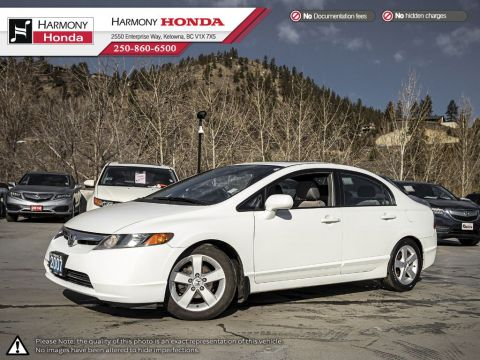 Pre-Owned 2007 Honda Civic Sedan EX - BC VEHICLE - SUNROOF - NEW REAR BRAKES - 2ND SET OF TIRES - FUEL EFFICIENT - NEW BATTERY