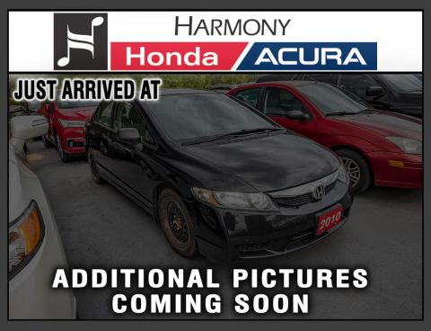 Pre-Owned 2010 Honda Civic Sedan DX-G