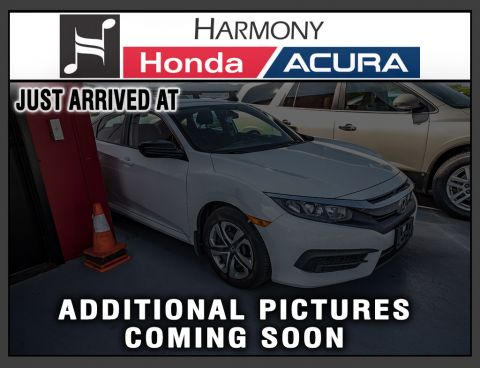 Pre-Owned 2017 Honda Civic Sedan DX