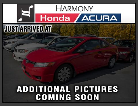 Pre-Owned 2007 Honda Civic Coupe DX-G