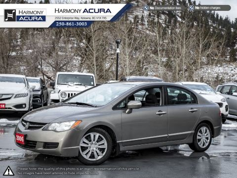 Pre-Owned 2006 Acura CSX PREMIUM - KELOWNA VEHICLE - ONE OWNER - NEW BRAKES - WELL SERVICED